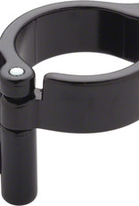 Problem Solvers Braze-on Adaptor Clamp 28.6mm Slotted Black