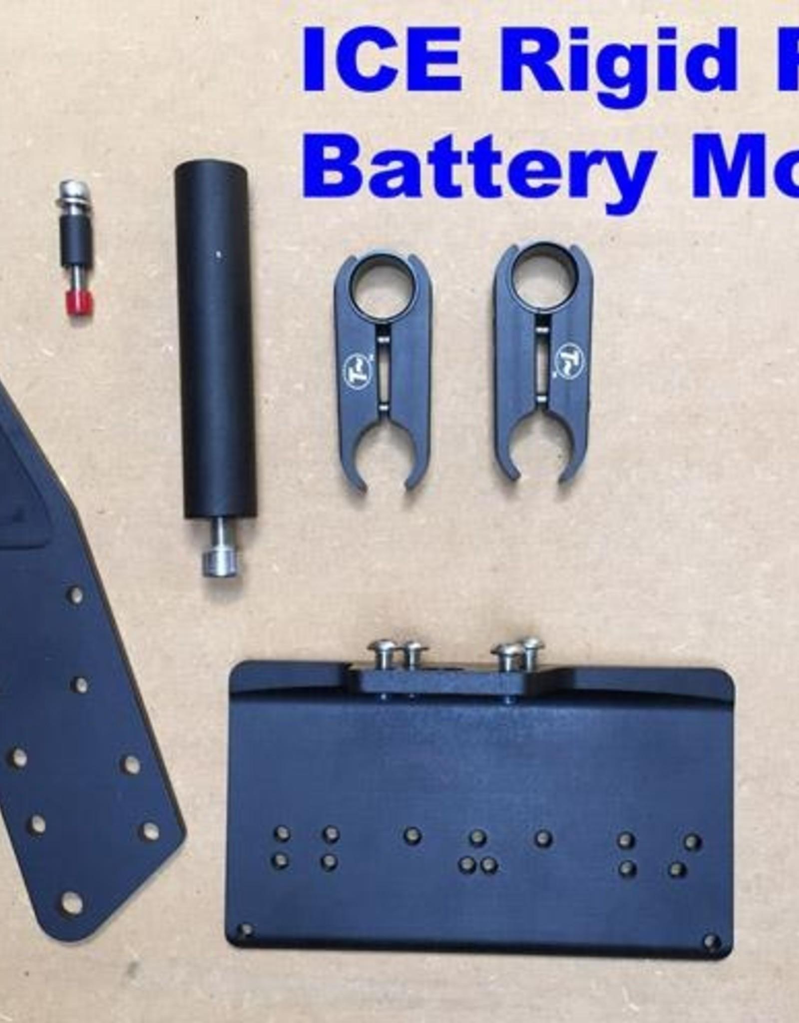 ICE Configured Battery Mount - Rigid Rear