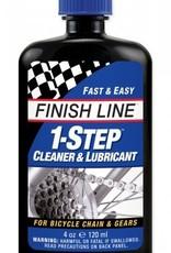Finish Line 1-Step Cleaner and Bike Chain Lube - 4 fl oz, Drip