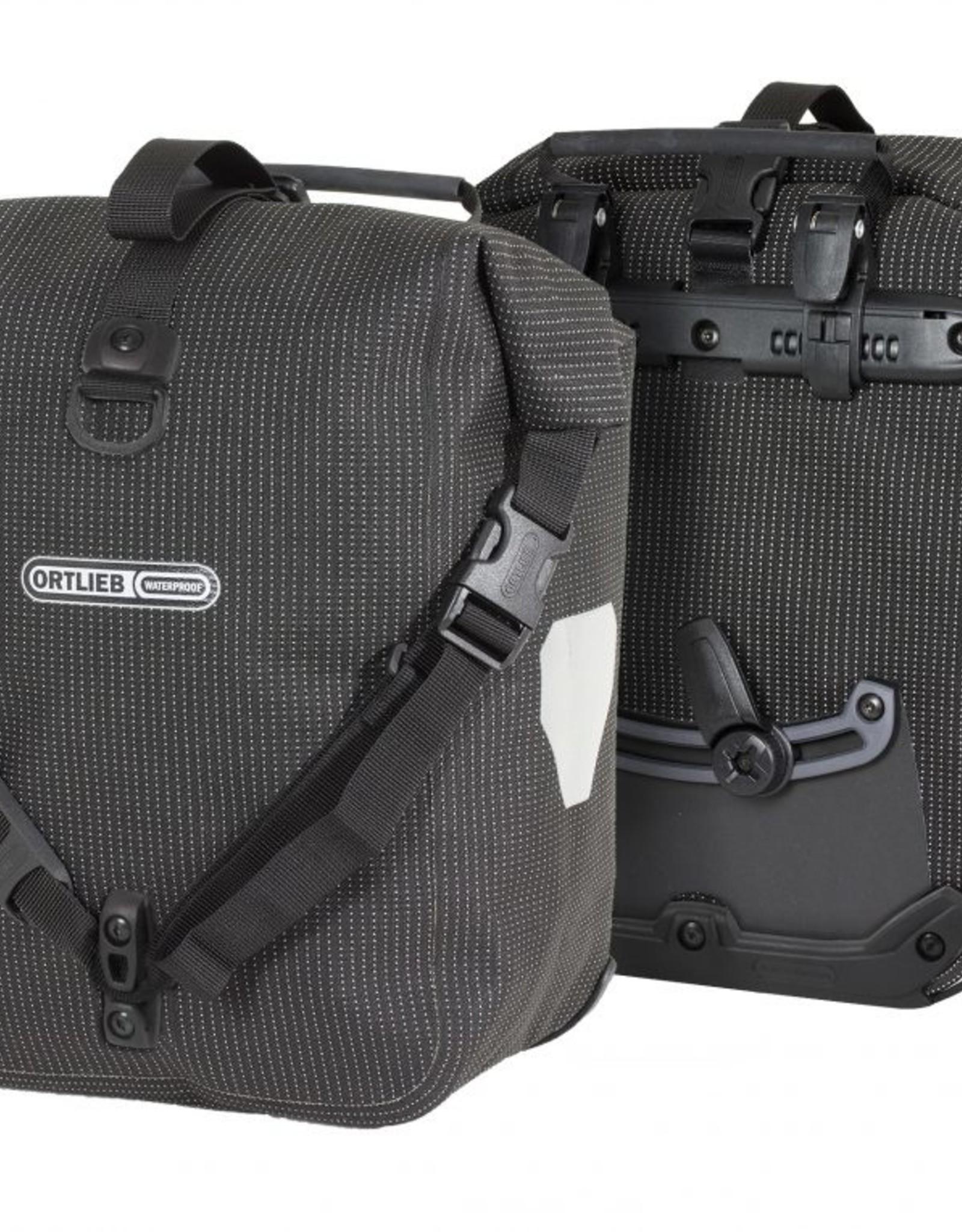 Ortlieb Ortlieb Sport-Roller High Visibility: 25 Liter, Pair, Black