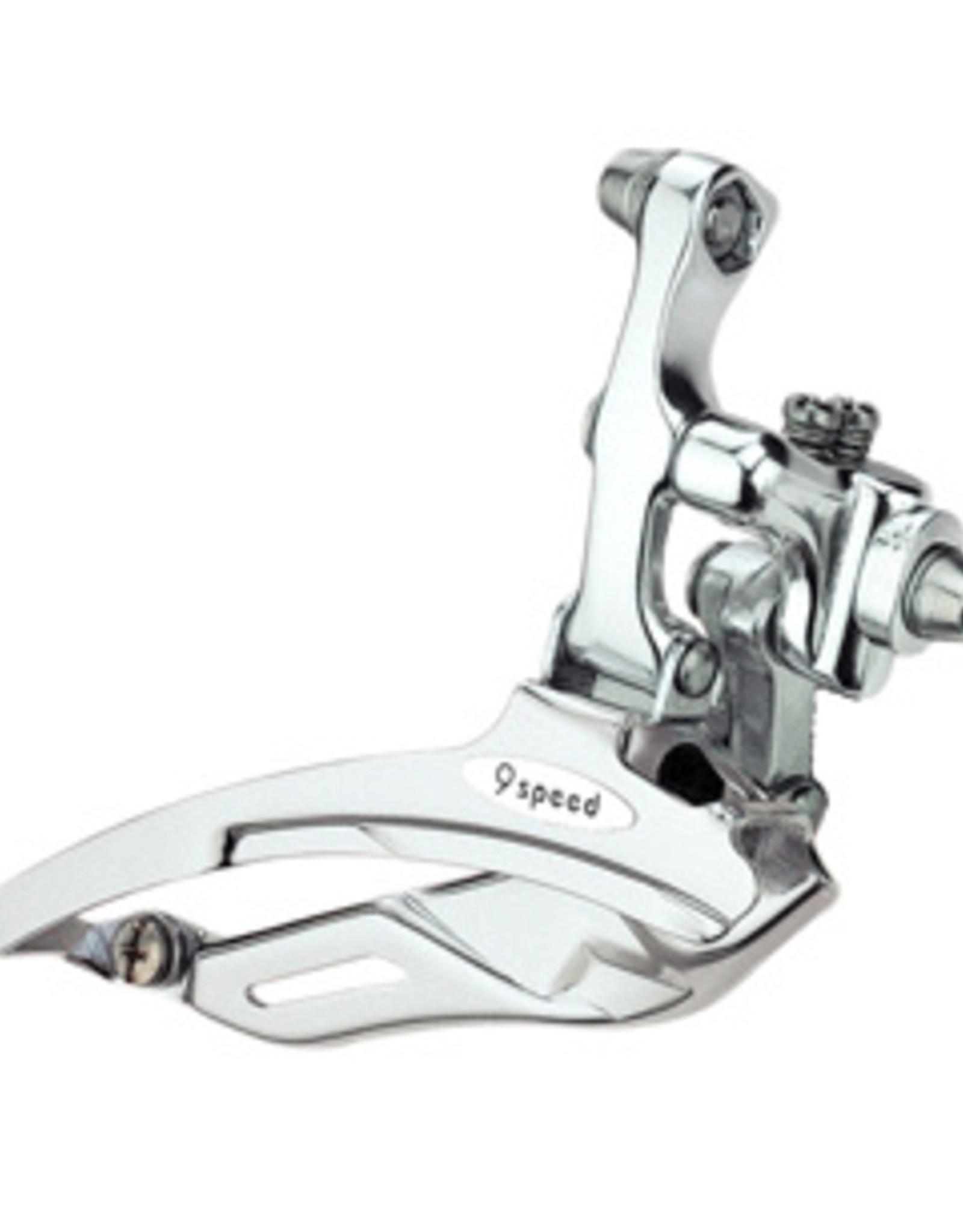 Microshift FD-R439 9 Speed Road Flat Bar Triple Front Derailleur