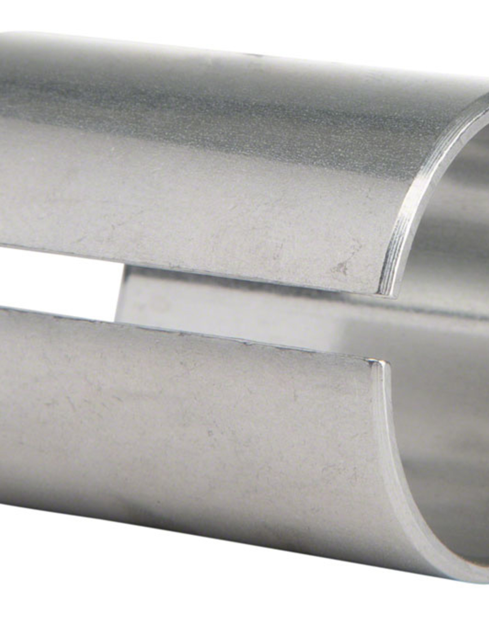 "Problem Solvers Steerer TubeShim 28.6 to 25.4 mm Adapts 1-1/8"" Threadless Stem to 1"" Threadless Steerer, 38 mm Height"