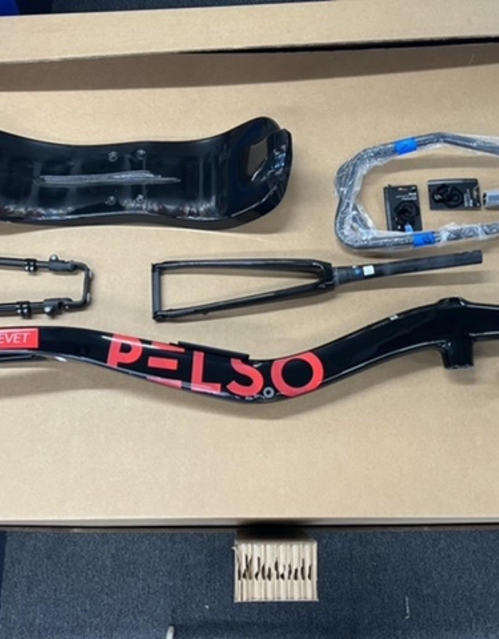 Pelso Brevet Frameset with seat and J-bars