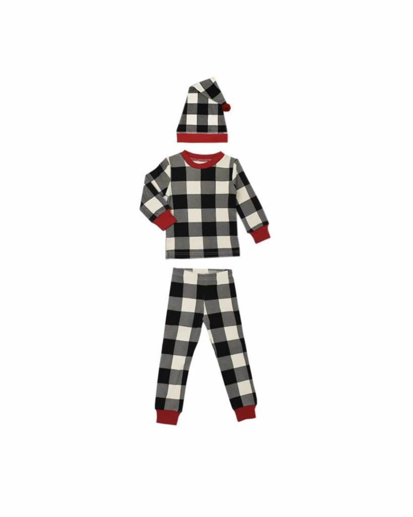 L'oved Baby L'oved Baby Kids Organic PJ Cap Set