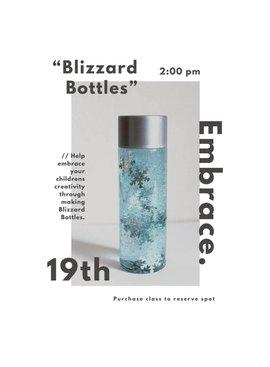 Sensory Blizzard Bottles