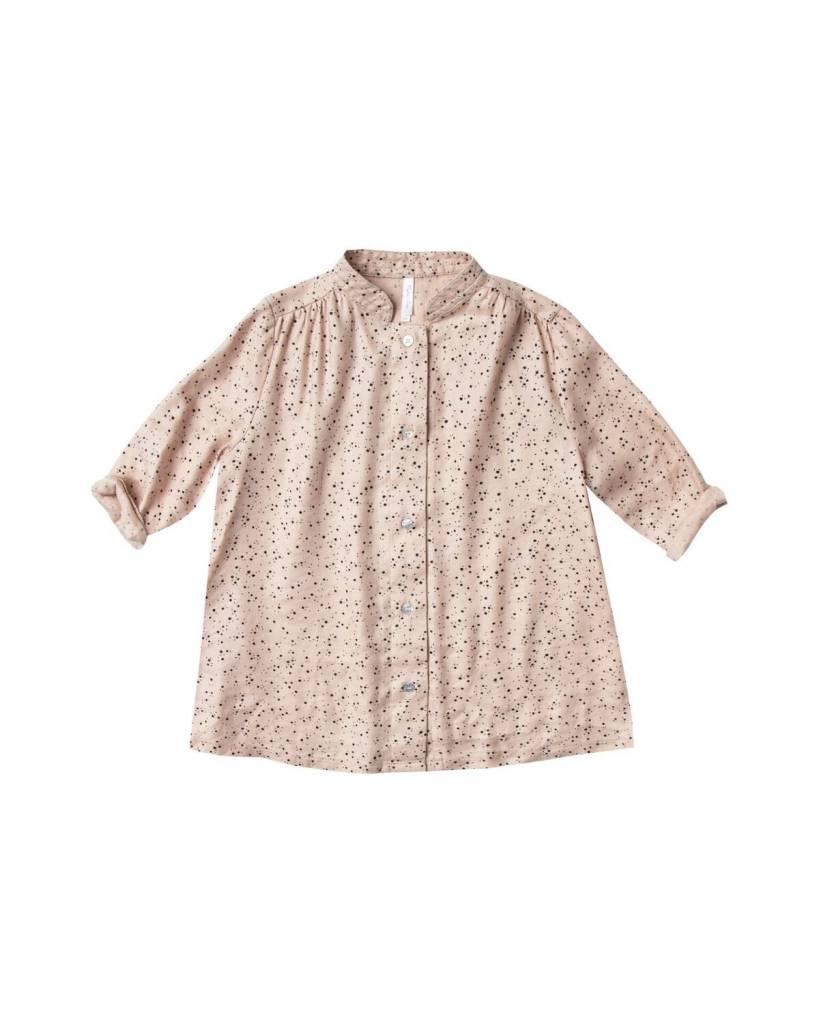Rylee+Cru Scattered Stars Button Shirt Dress