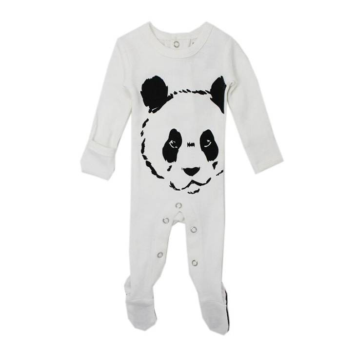 L'oved Baby Organic Graphic Footie