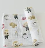 Little Unicorn Cotton Muslin Swaddle Single