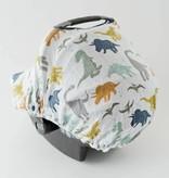 Little Unicorn Cotton Muslin Car Seat Canopy
