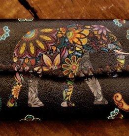 Mandala Elephant Wallet