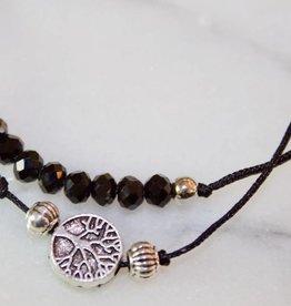 Tree of Life Pull Cord Bracelet