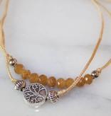 Tree of Life Pull Bracelet