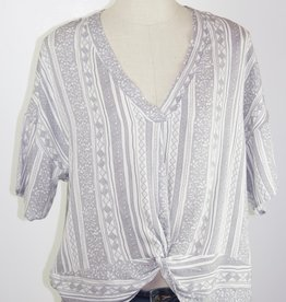 Boho Chic Twist Top