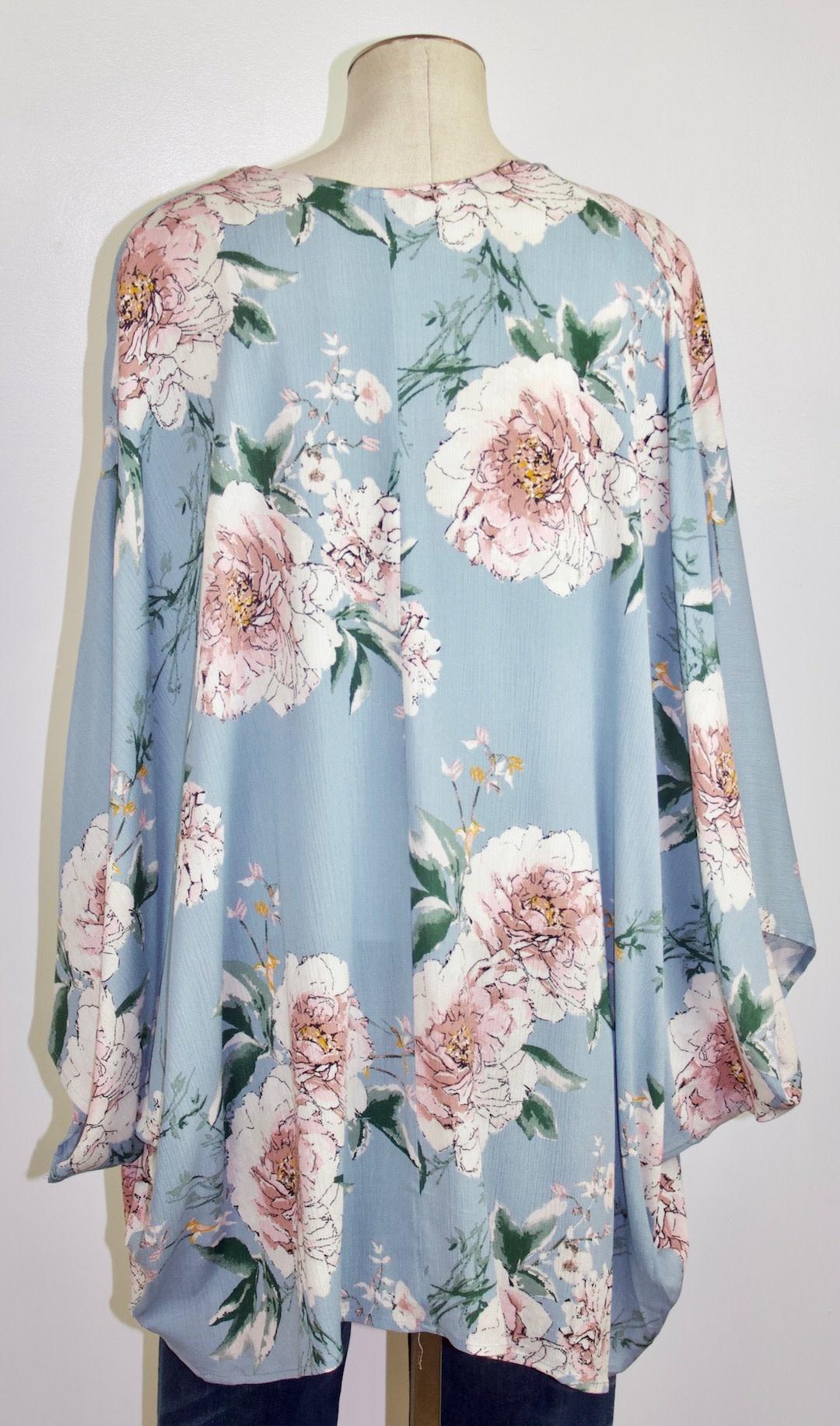 Parisian Floral Kimono