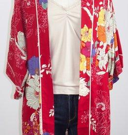 Classic Kimono Crimson