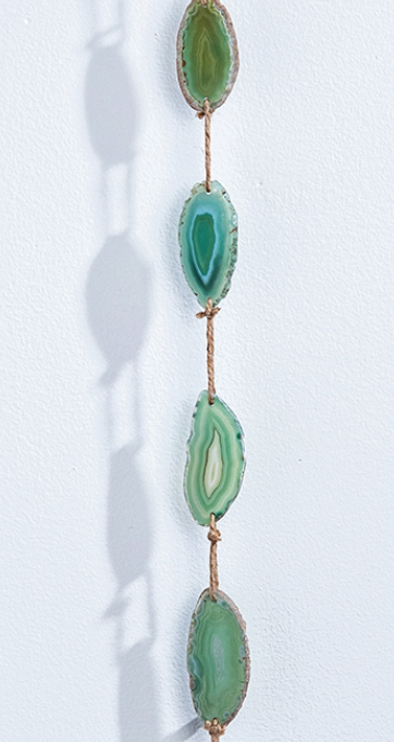 Suncatcher Green Agate