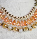 Sunshine Beaded Choker