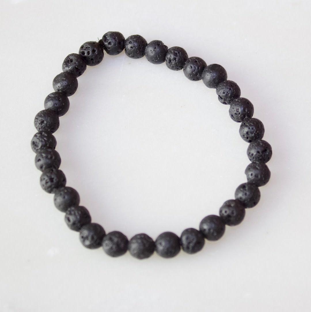 Lava Stone Bracelet Medium
