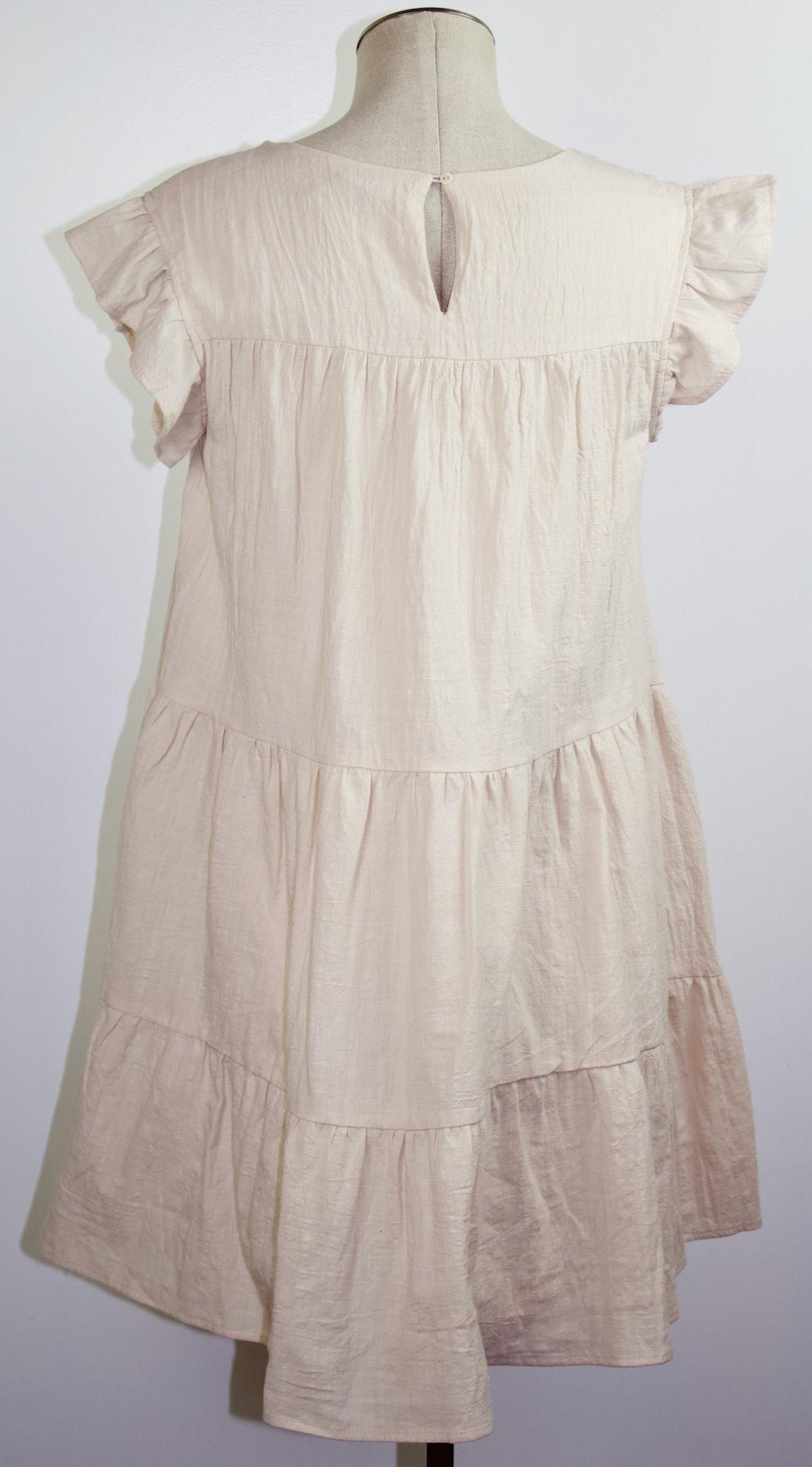Ruffled Baby Doll Dress
