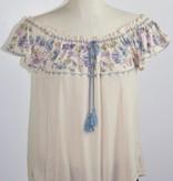 Cross Stitch Peasant Top