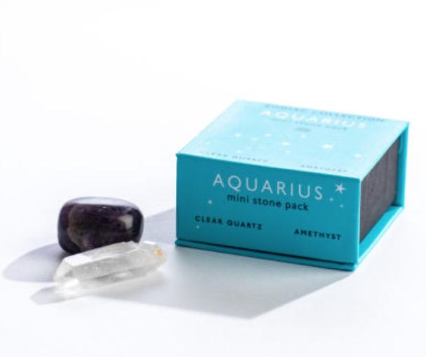 Zodiac Mini Stone Aquarius