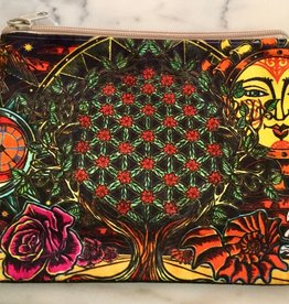 Flower of Life Zip Pouch
