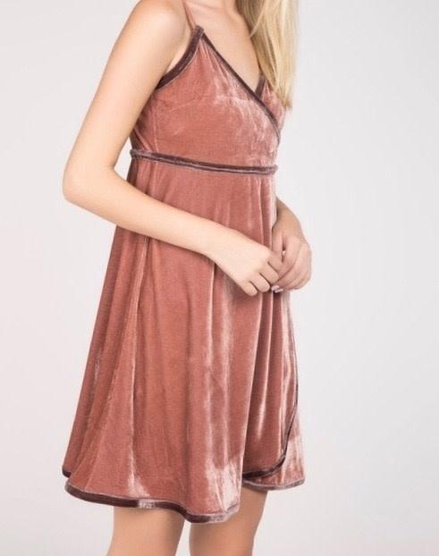 Velvet Plush Tank Dress