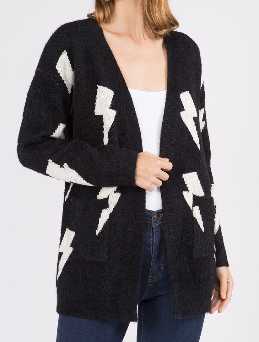 Lightning Bolt Cardigan