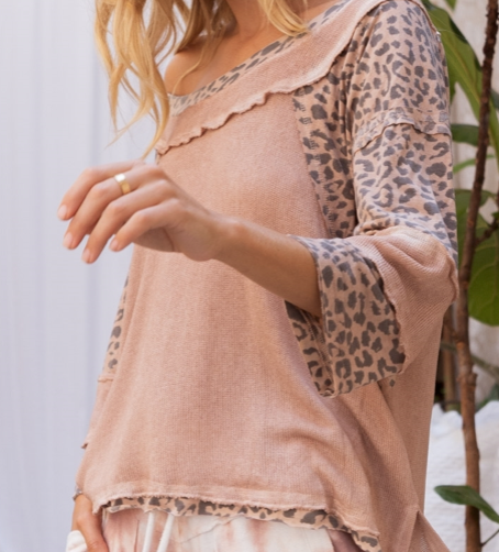 Loungy Leopard Sweater