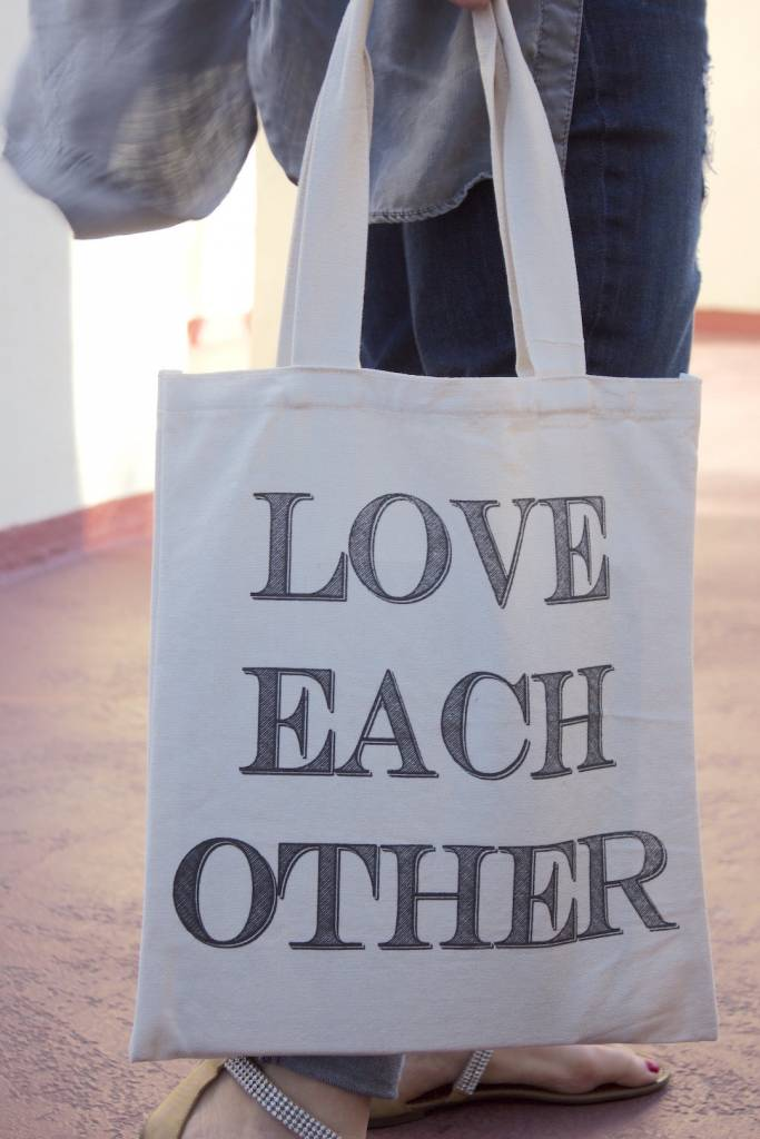 Love Each Other Tote