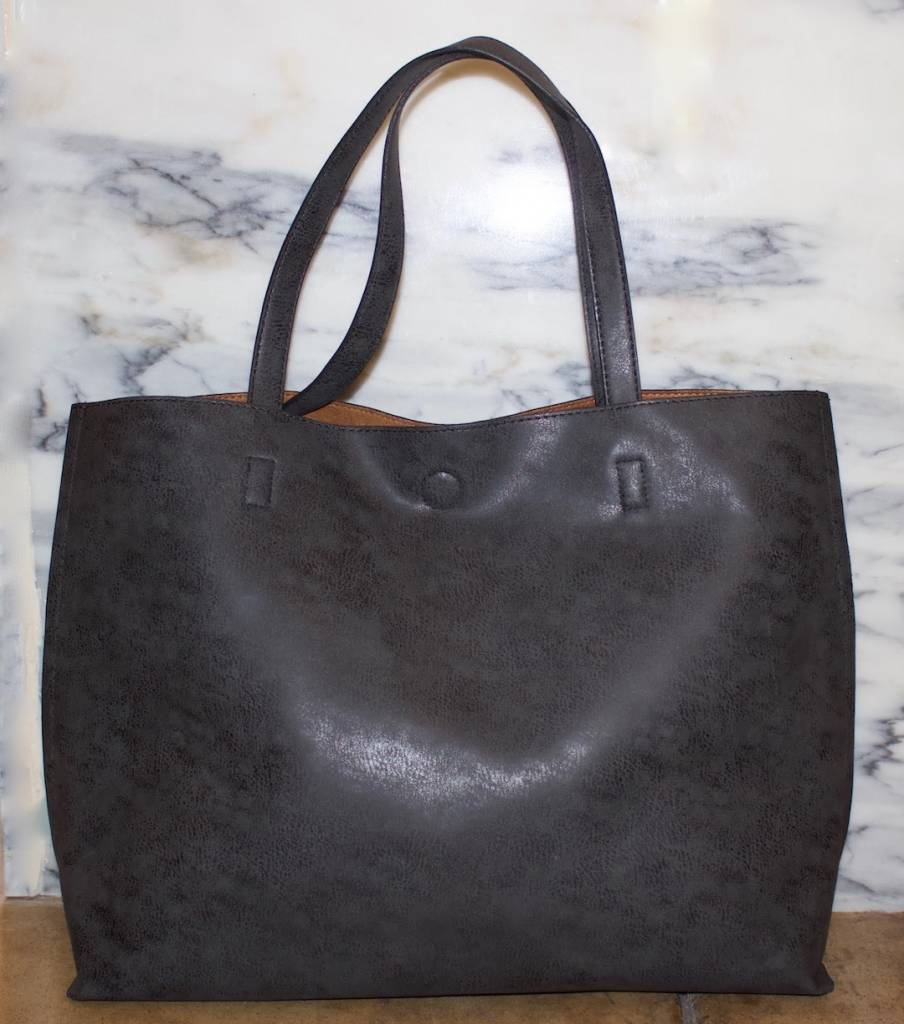 Distressed Stitch Tote