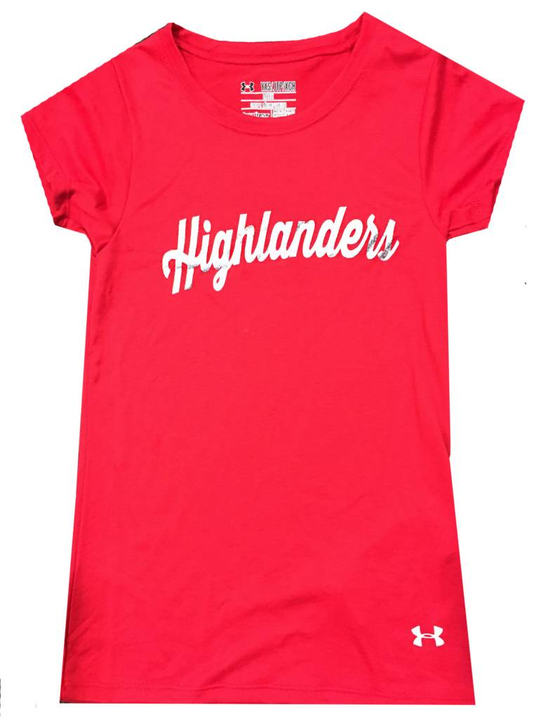 Under Armour UA Girls silver Highlanders