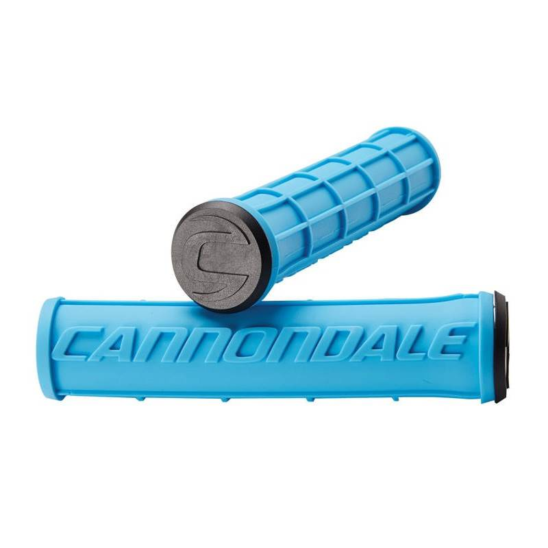 Logo Silicone Grips BLUE