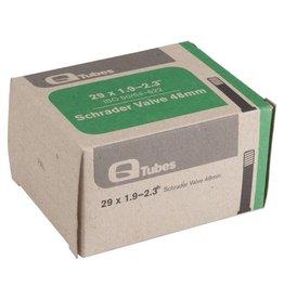 """Q-Tubes 29 x 1.9-2.3"""" 48mm Long Schrader Valve Tube"""