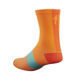 SL TALL SOCK NEON ORG L/XL