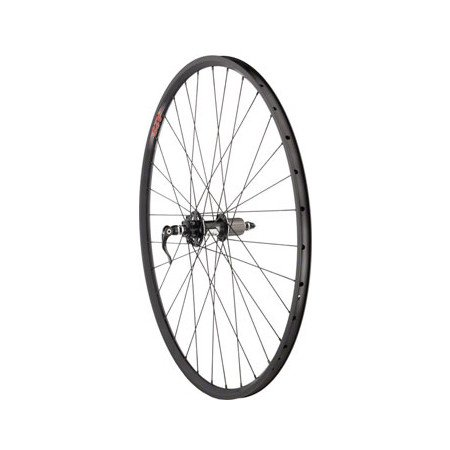 Quality Wheels Cross Disc Rear Wheel 700c 32h SRAM X.9 / Velocity A23 / DT Competition All Black