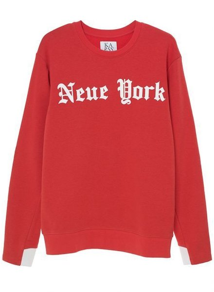 Zoe Karssen New York Sweatshirt