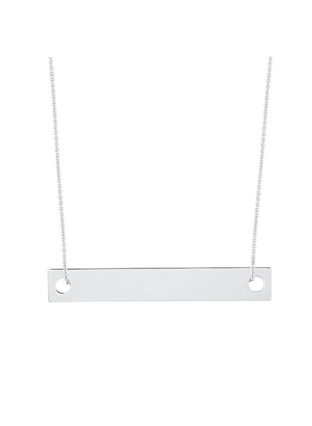 GINETTE NY Baby Baguette on Chain