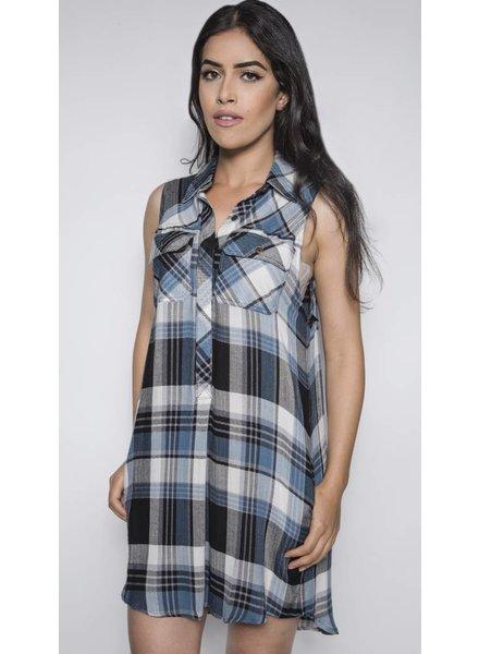 ASH & AMBER MALIBU REMING SHIRT DRESS