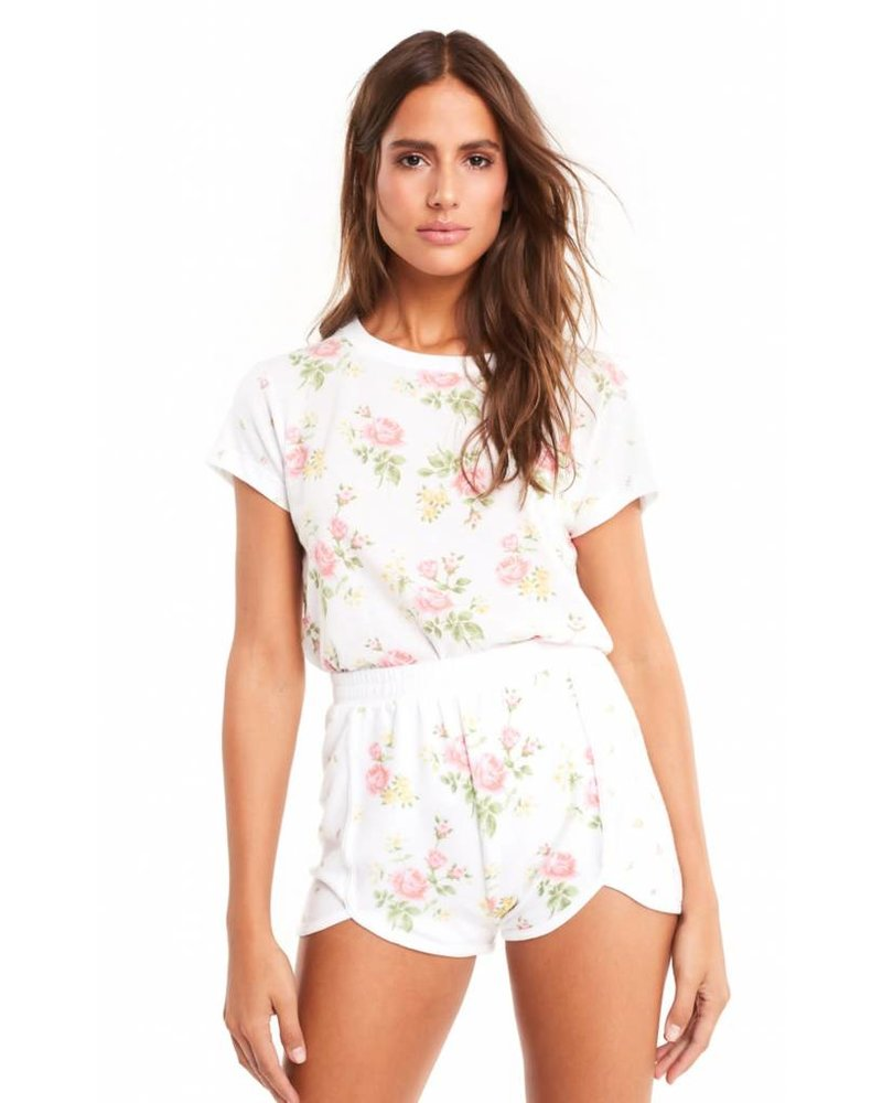 Wildfox Patchwork Floral Shirt