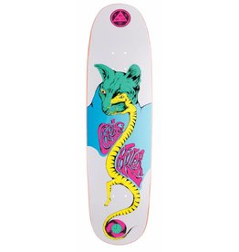 Welcome Welcome Chris Miller Lizard Eye on Catblood 2.0 White Deck - 8.75 x 32.88