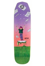Welcome Welcome Nora Vasconcellos Magilda on Wicked Queen Lavender/Coral Deck - 8.6 x 32.5