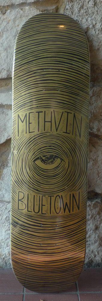 Bluetown Bluetown Methvin Deck - 8.25