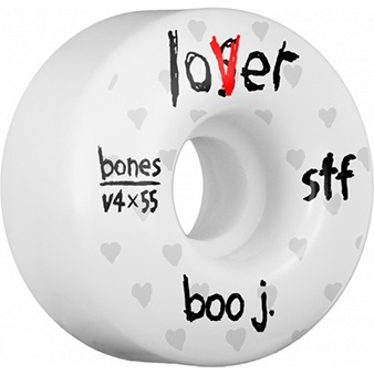 Bones Wheels Bones STF Boo Lover v4 55mm 103a Wheels (set of 4)