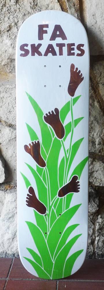FA skates FA Footplant Deck - White