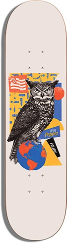 Politic Politic Pepper Critters Deck - 8.25