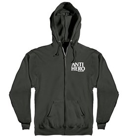Anti-Hero Anti-Hero Lil Blackhero Zip-up Hoodie - Black (size  X-Large)