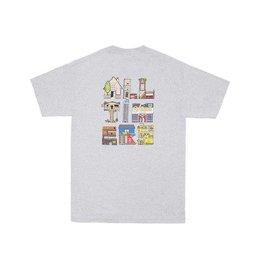 Alltimers Alltimers Housing T-shirt - Heather Grey