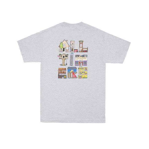 Alltimers Alltimers Housing T-shirt - Heather Grey