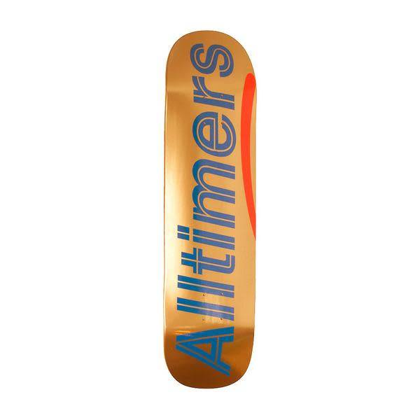 Alltimers Alltimers Shiny Oranges Logo Deck - 8.3